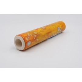 Chillum artigianale by Renato in terracotta smaltata di diversi colori, L:147mm