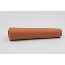 Chillum artigianale by Checco in terracotta, L:129mm