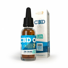 Olio di CBD 30 ml 2.5% Royal Queen Seeds