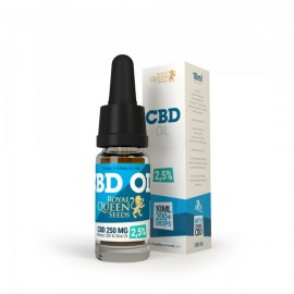 Olio di CBD 10 ml 2.5% Royal Queen Seeds