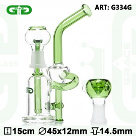 Grace Glass LABZ Series Scientific Bubbler H: 15 CM Dmt: 45 mm